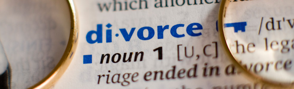 The word divorce from the dictionary